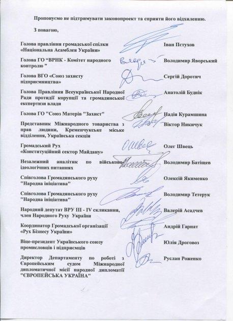 Листування щодо проектів Закону України «Про основні засади забезпечення кібербезпеки України», зареєстрованого у Верховній Раді України 19 червня 2015 року за №2126а та наданого на заміну в редакції від 14 квітня 2016 року