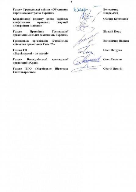 Спільний лист НАУ  щодо проекту Закону реєстр.№ 6688