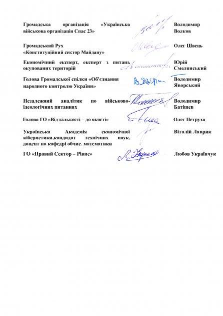 Спільне Звернення Президенту України щодо Указу від 27.03.2021 №124/2021